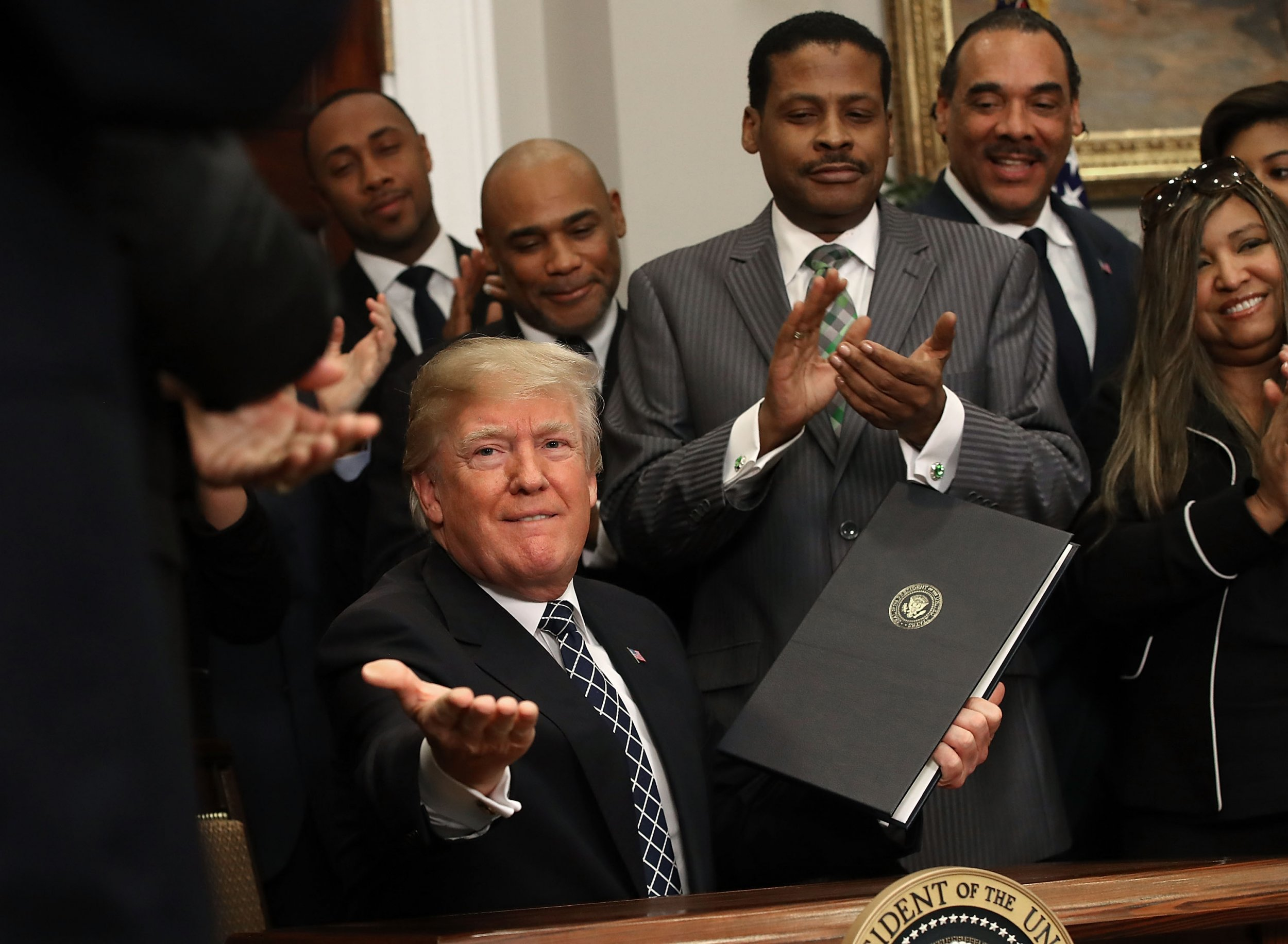 Trump Thinks Only Black People Are on Welfare, But Really