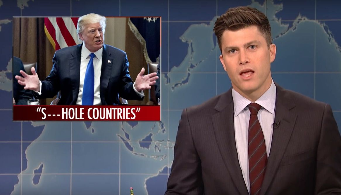 "'SNL' rips Trump over ""shithole countries"" and Stormy Daniels"