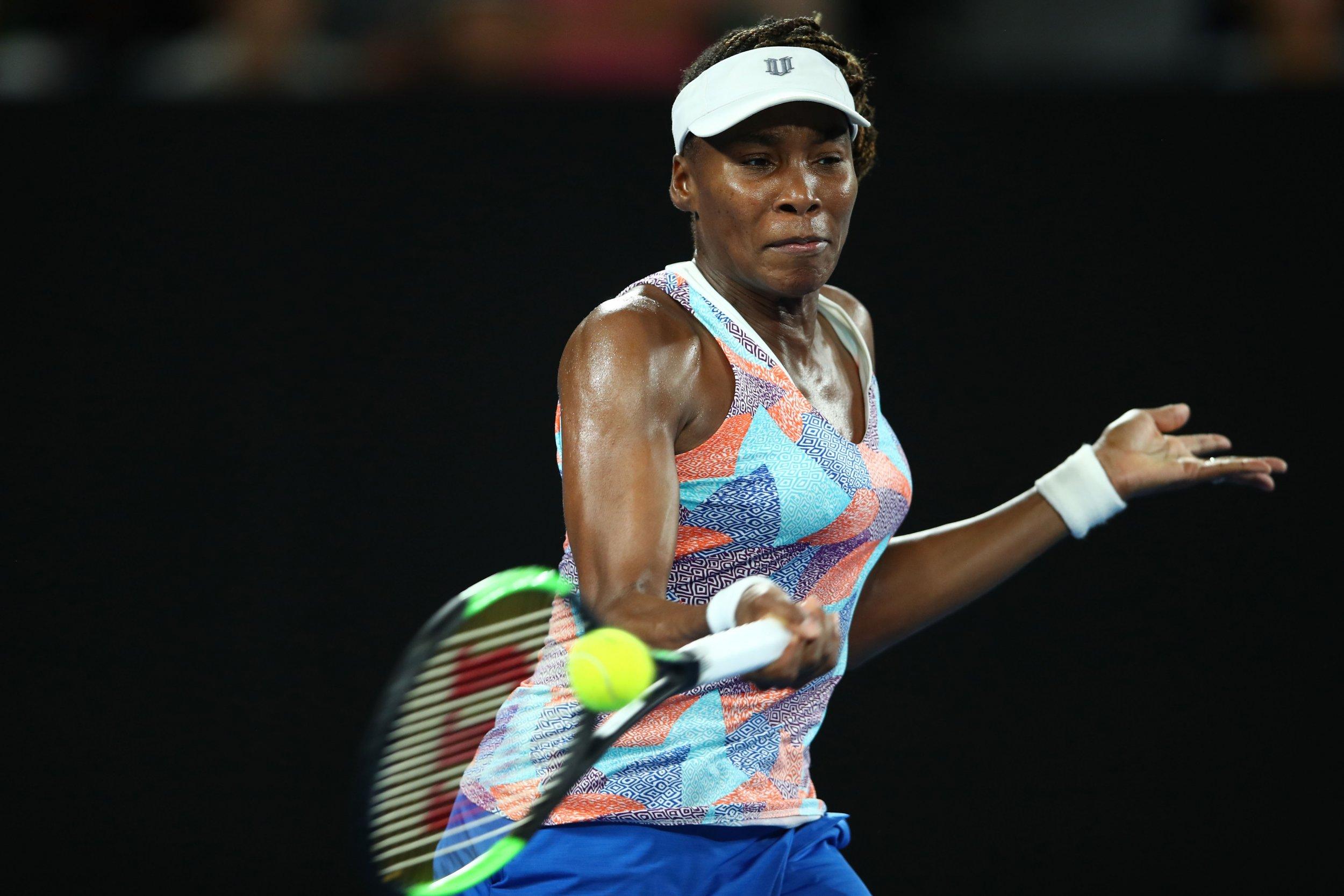 Two-time Australian Open champion Venus Williams.