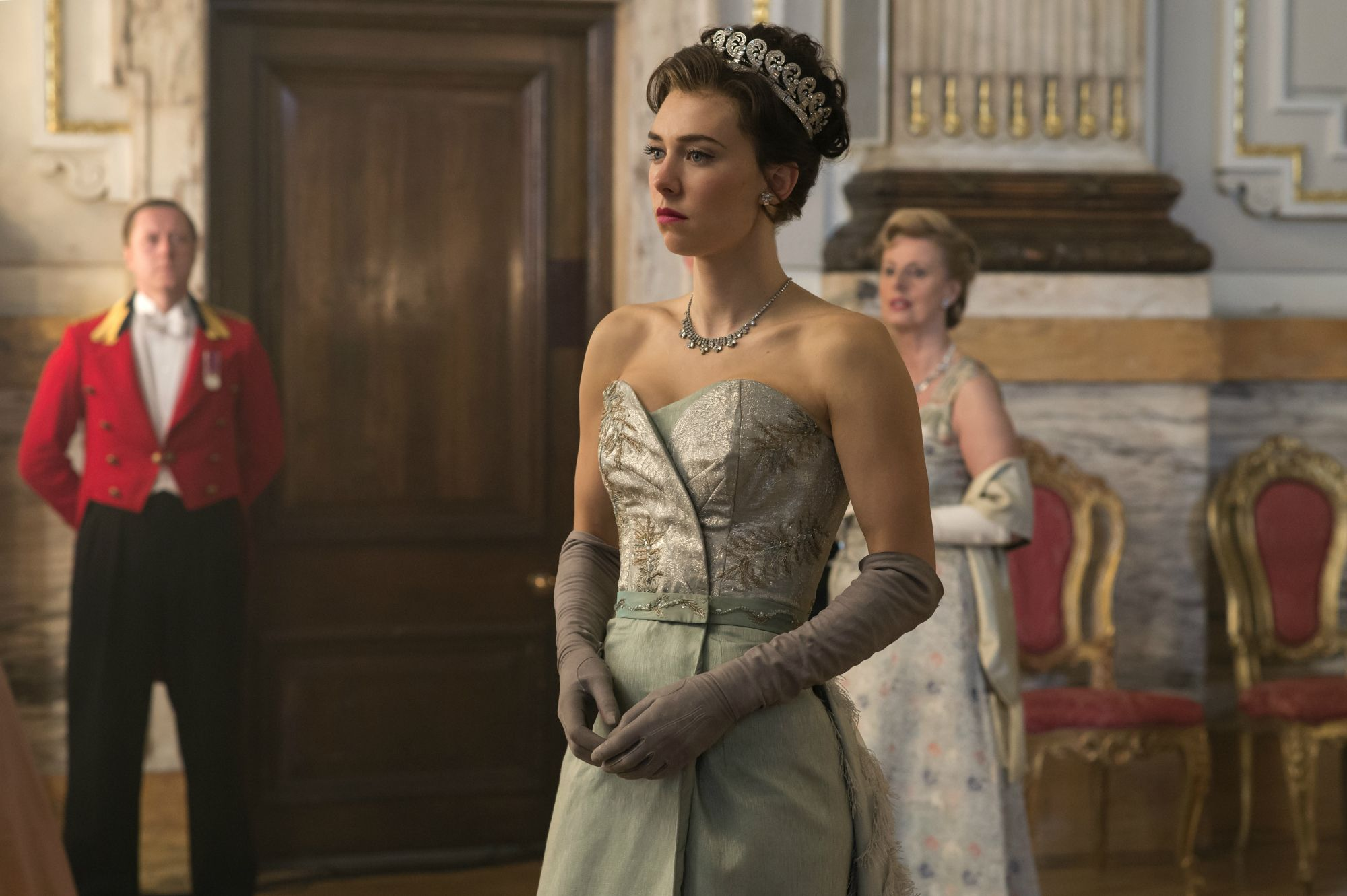 Vanessa Kirby in 'The Crown' Season 2