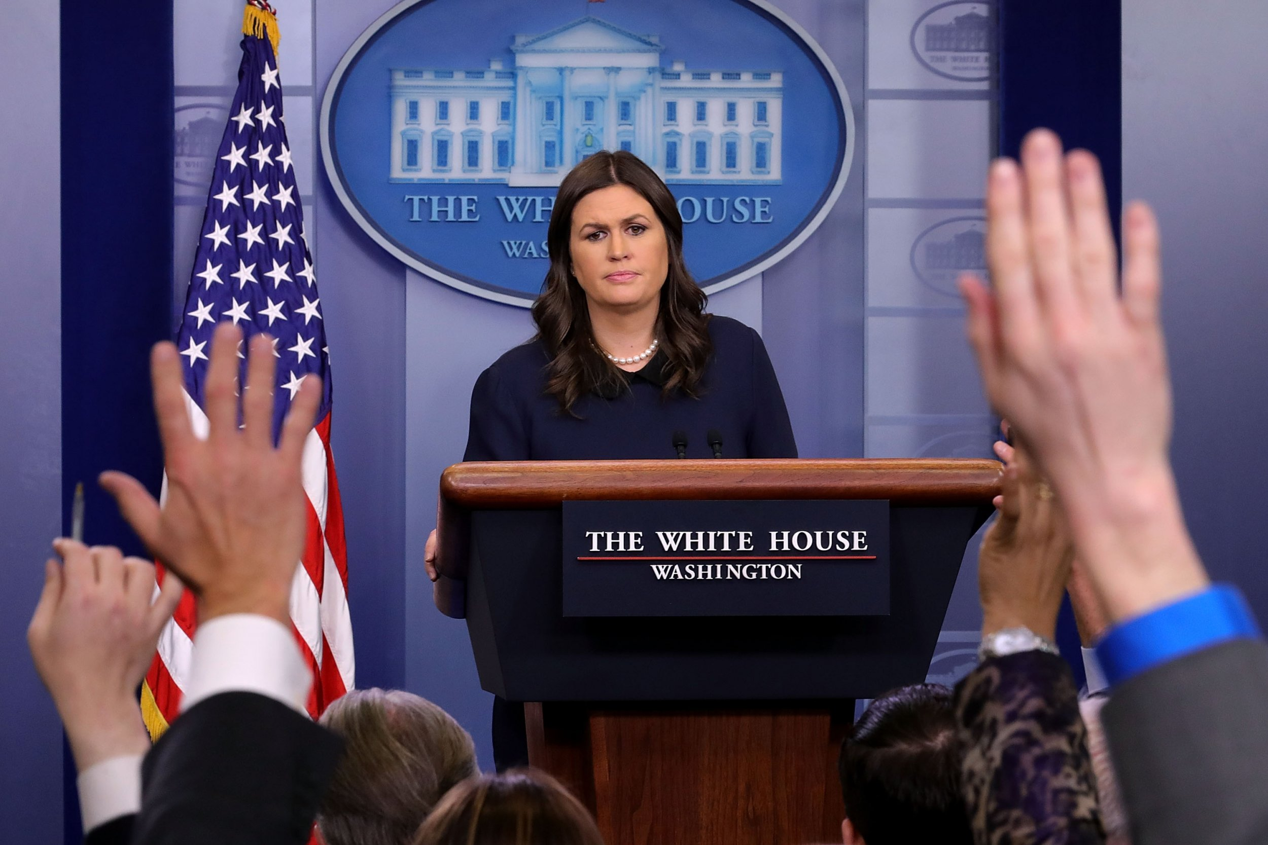 Sarah Sanders used official Twitter to complain about Batman