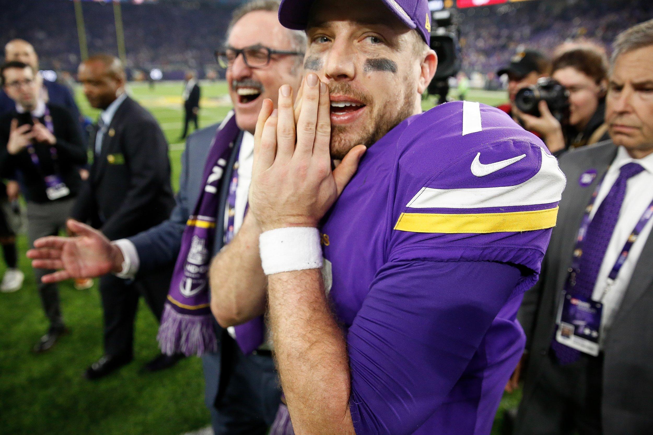 Minnesota Vikings quarterback Case Keenum.