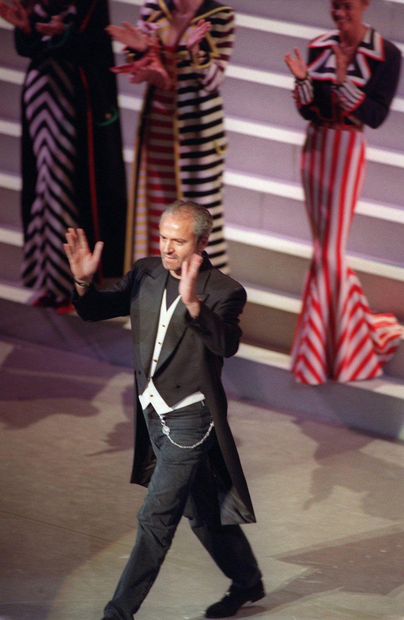 Gianni Versace in 1992