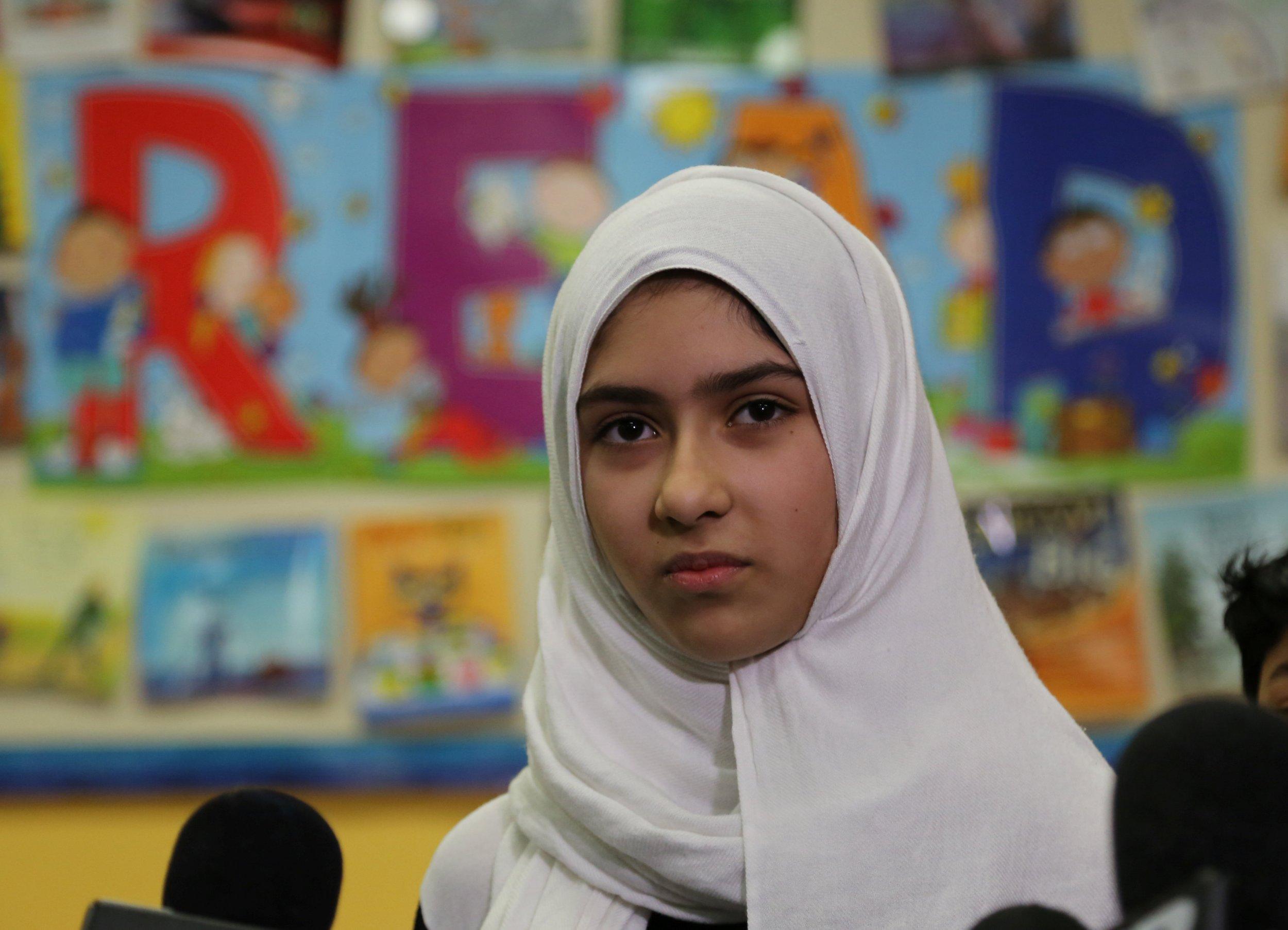 Arab hijab student gives awesome titjob blowjob to professor 4