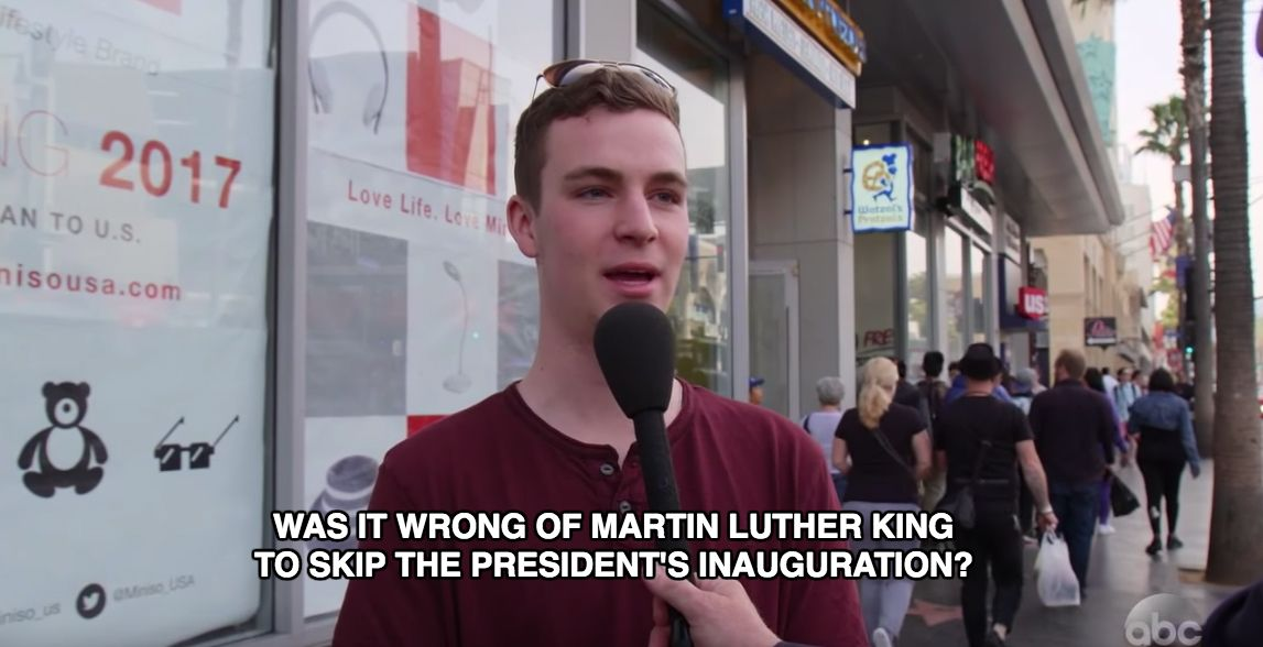 Jimmy Kimmel: People weigh in on Trump vs MLK 'Twitter feud'