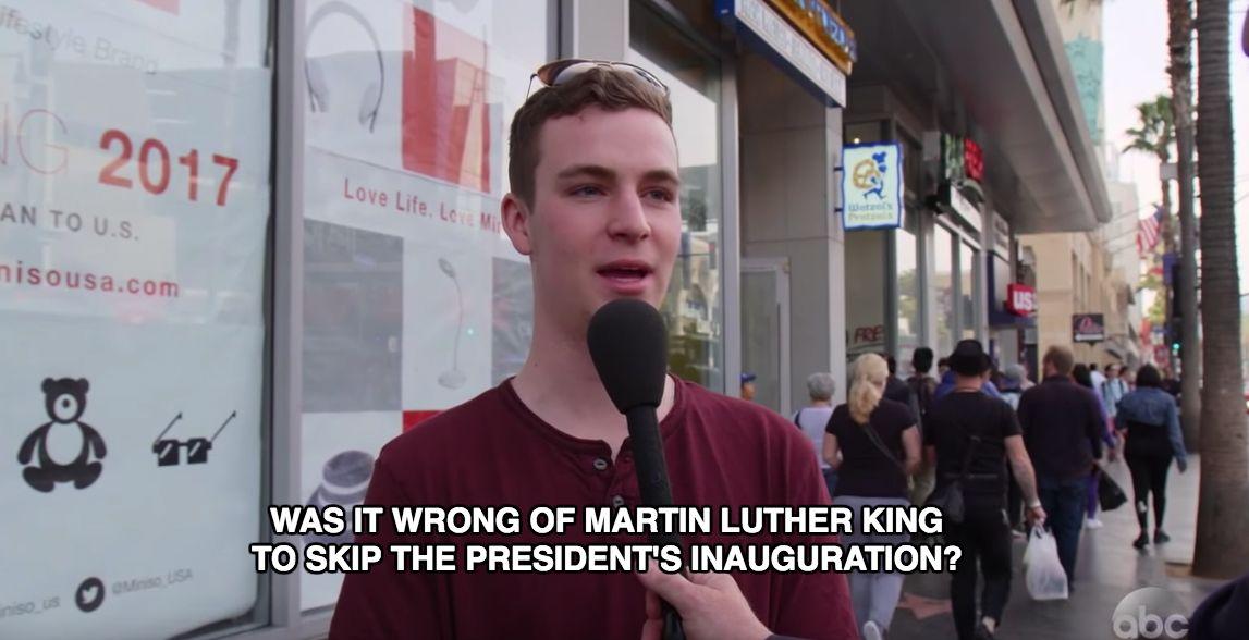 Jimmy Kimmel: People weigh in on Trump vs MLK 'Twitter feud'