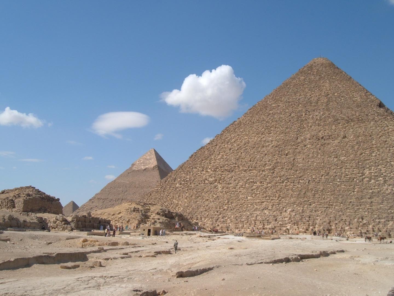 giza pyramide dating