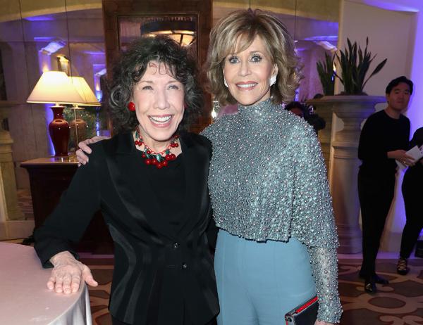 Jane Fonda and Lily Tomlin Slam Megyn Kelly—On Her Own Show