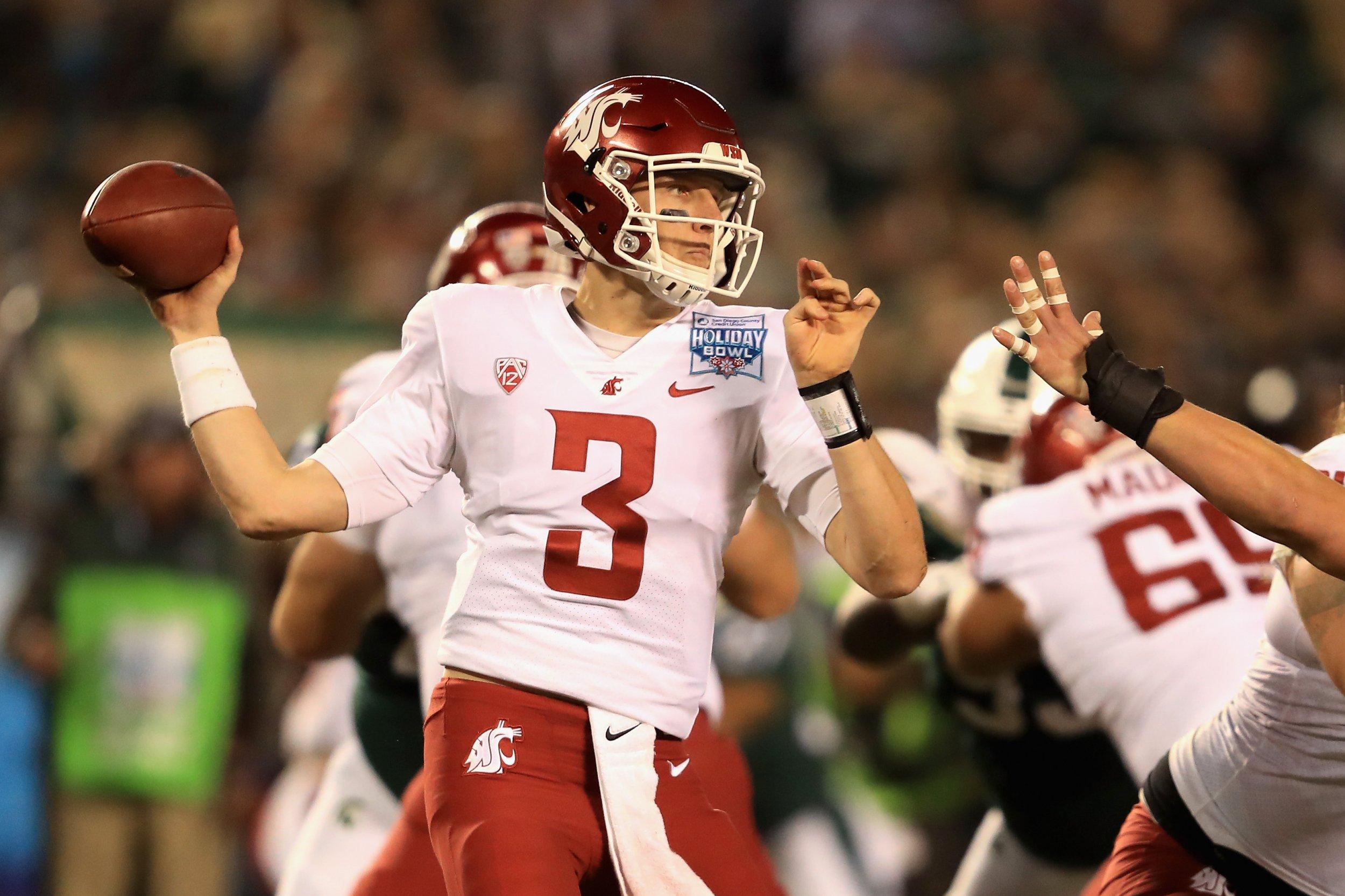 Washington State Cougars quarterback Tyler Hilinski.
