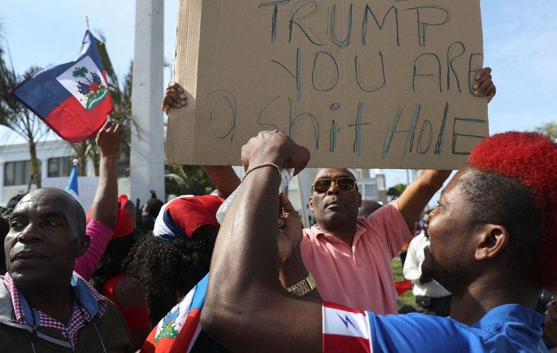 Haiti_Protest_Shithole
