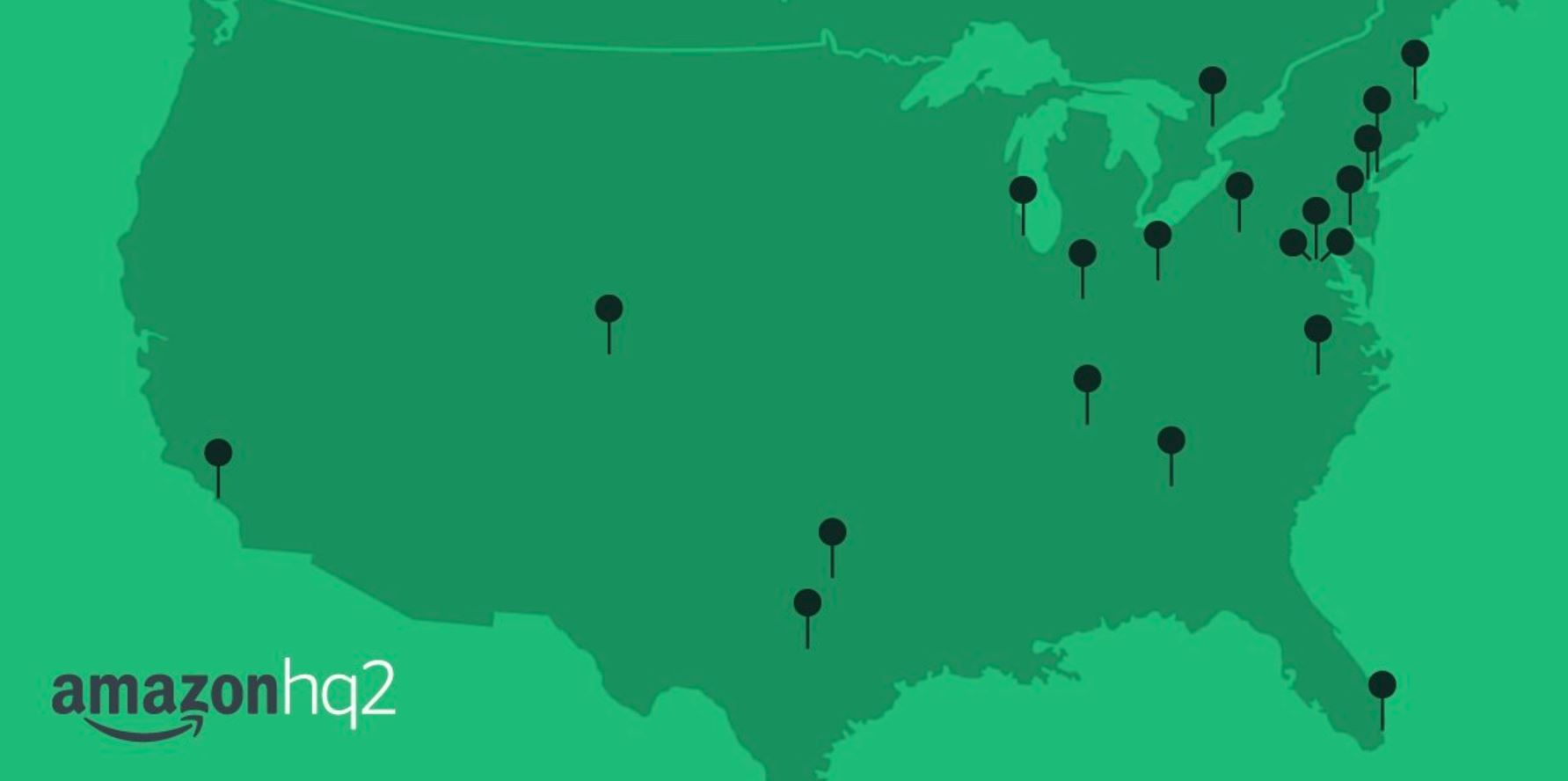amazon headquarters hqr shortlist cities
