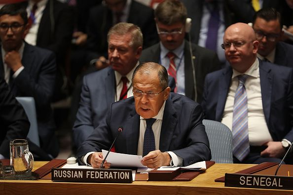 Lavrov Security Council