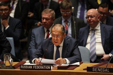 Lavrov Security Council