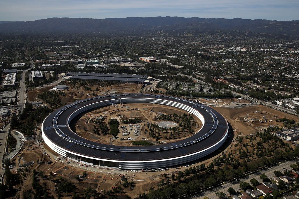 apple headquarters where tim cook
