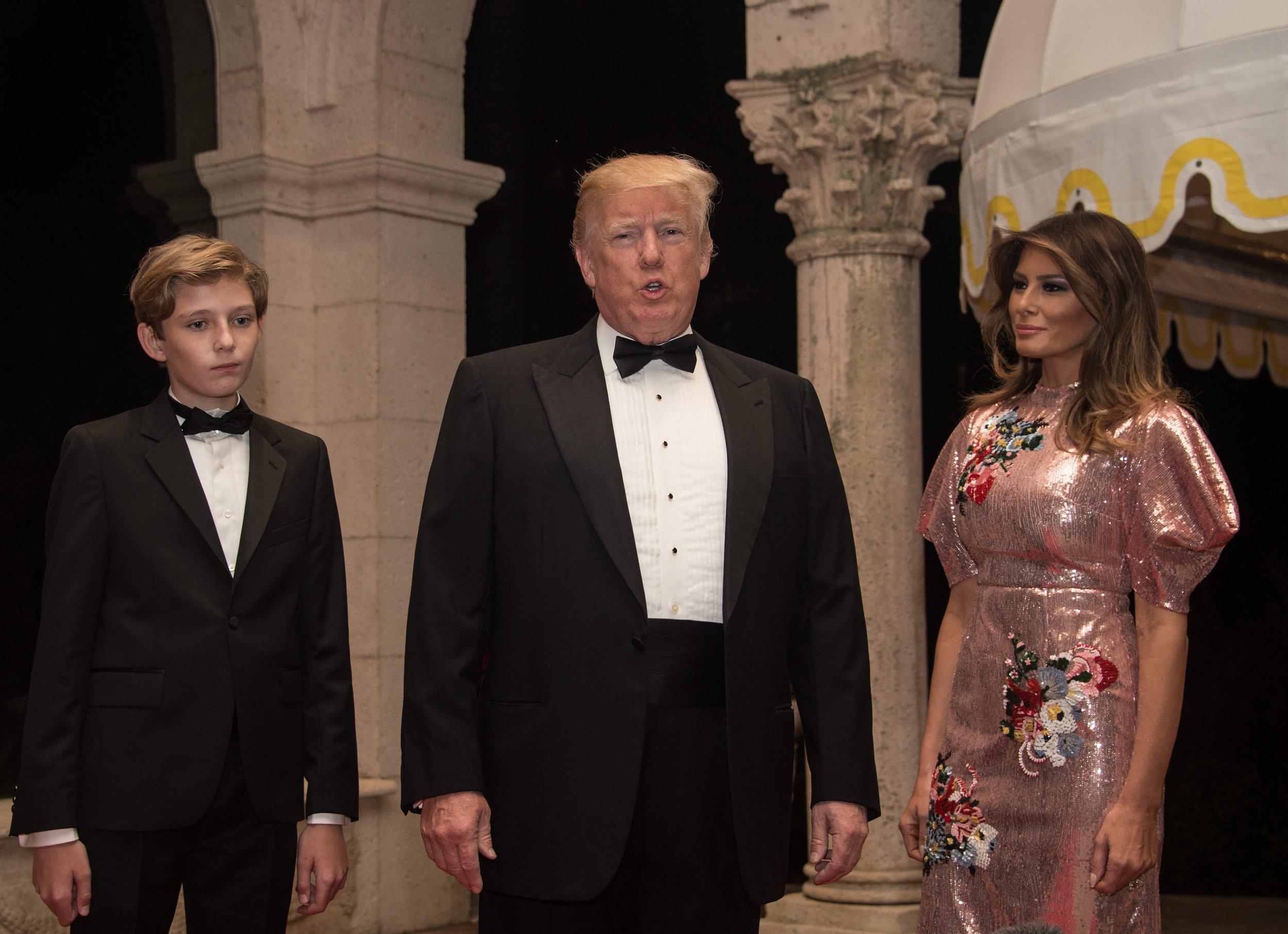 Trump at resort