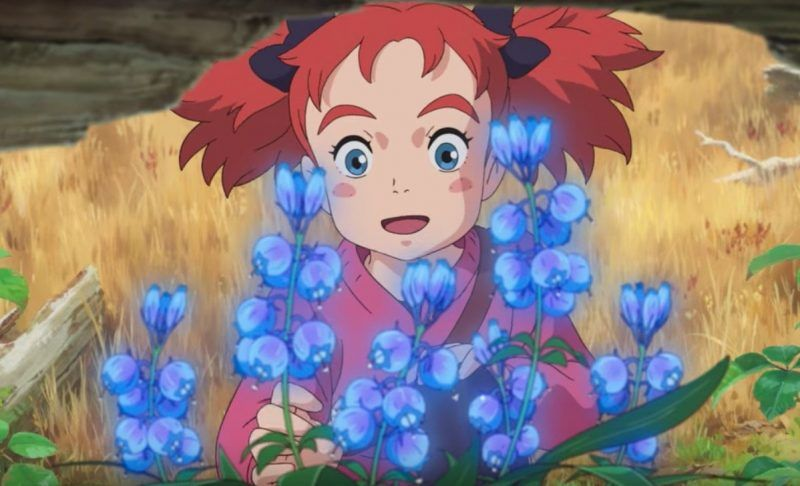 mary and witch's flower
