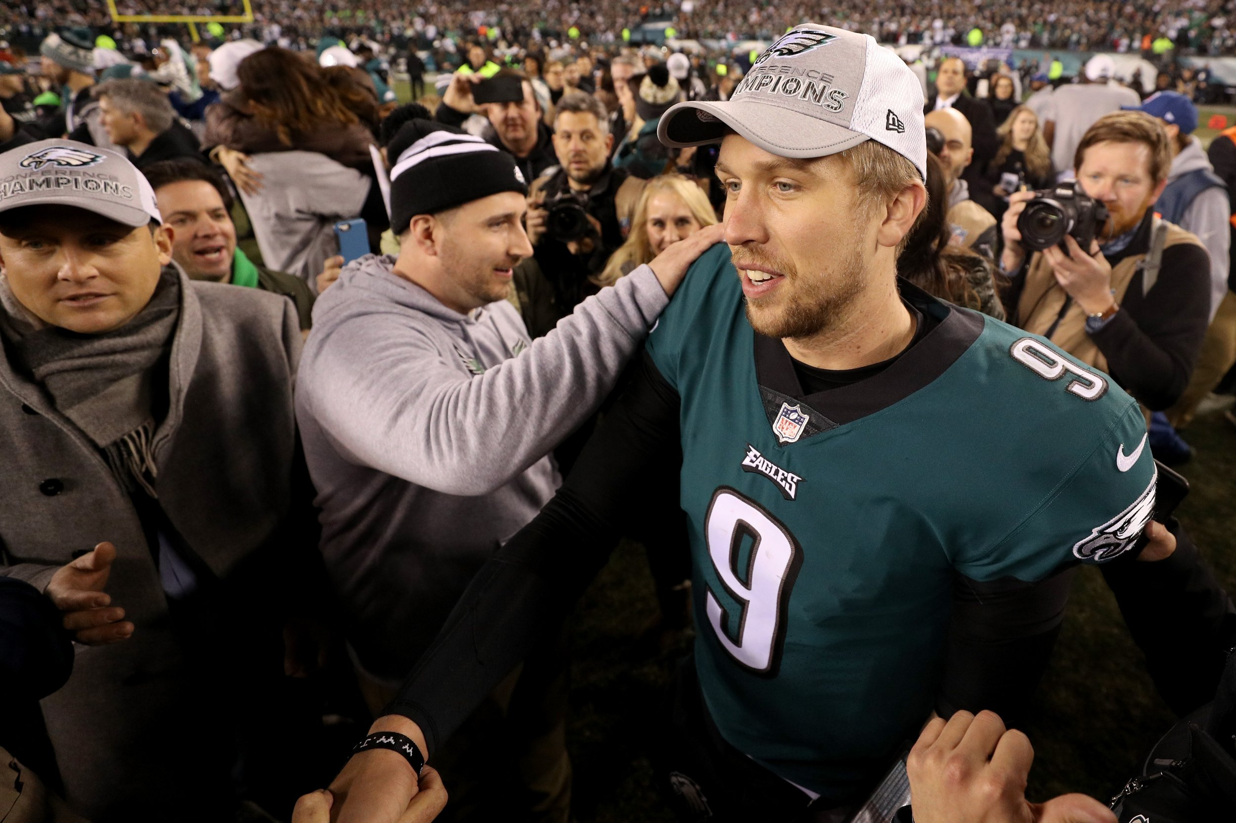 Philadelphia Eagles quarterback Nick Foles.