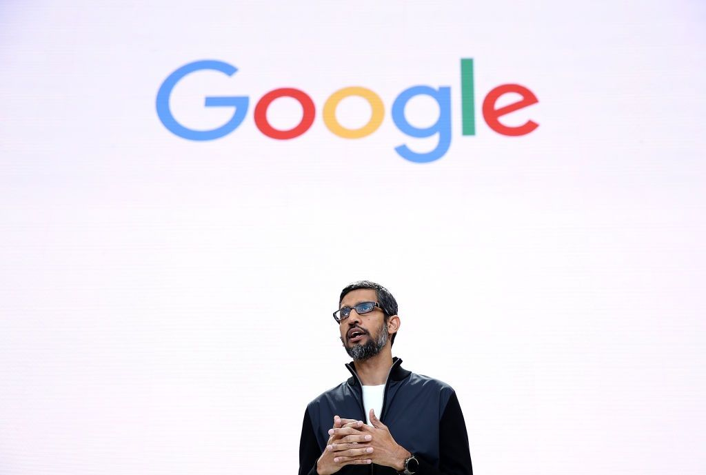google artificial intelligence AI pichai