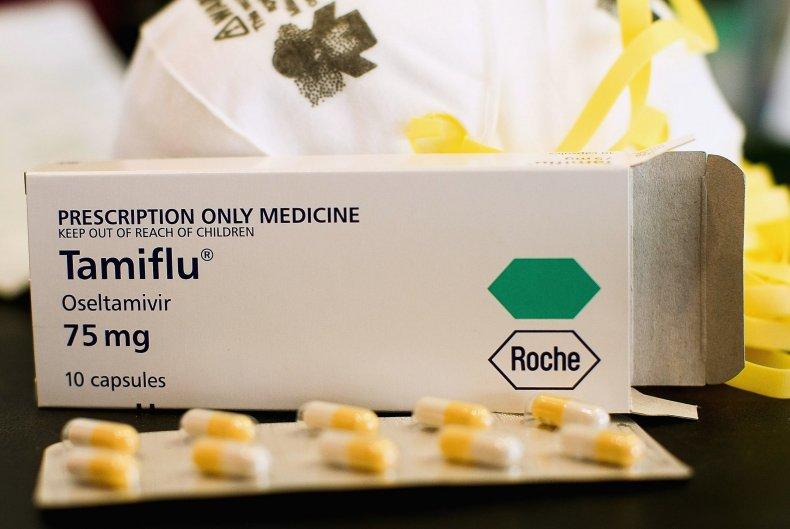 Tamiflu packages
