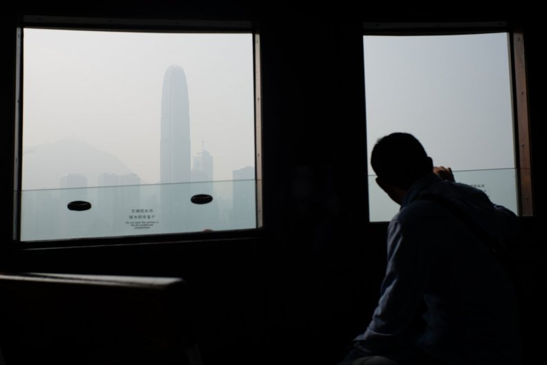 hong kong ferry window