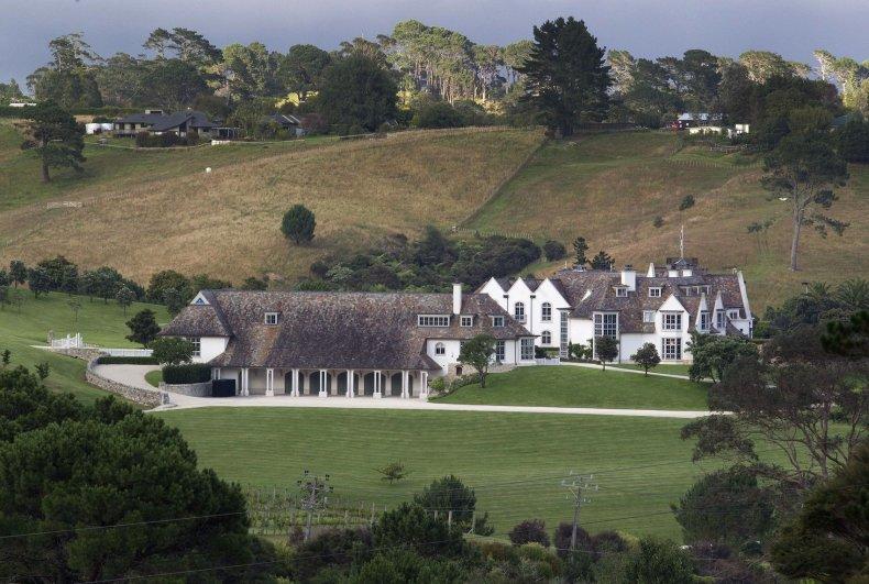 Kim Dotcom mansion new zealand