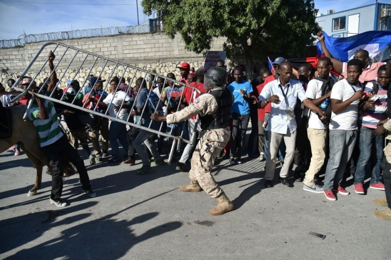 12318_Haiti_Protest_Shithole