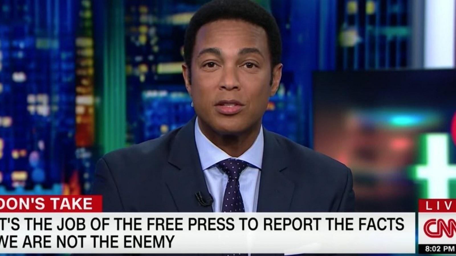 Watch Don Lemon Slams Trump After Cnn