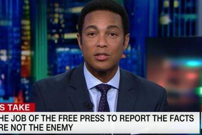 Don Lemon slams Trump after CNN receives death threats