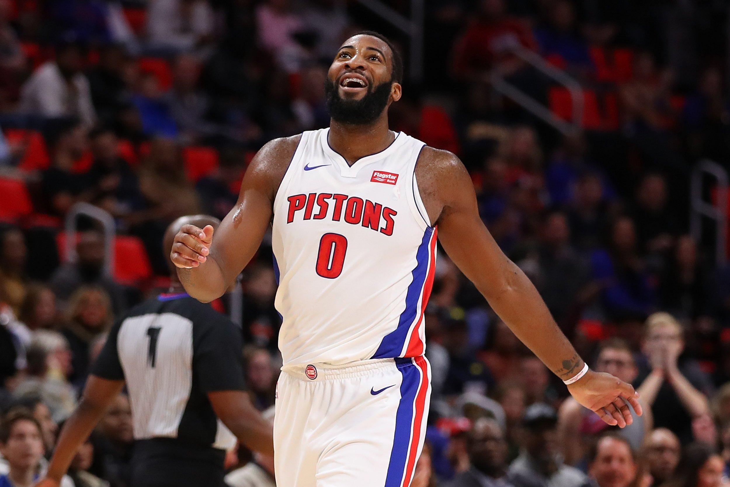 Detroit Pistons center Andre Drummond.