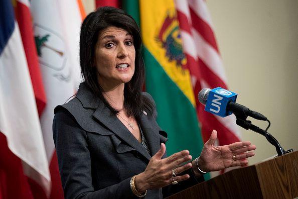 Haley at UN