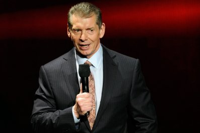 WWE chairman and majority owner Vince McMahon.