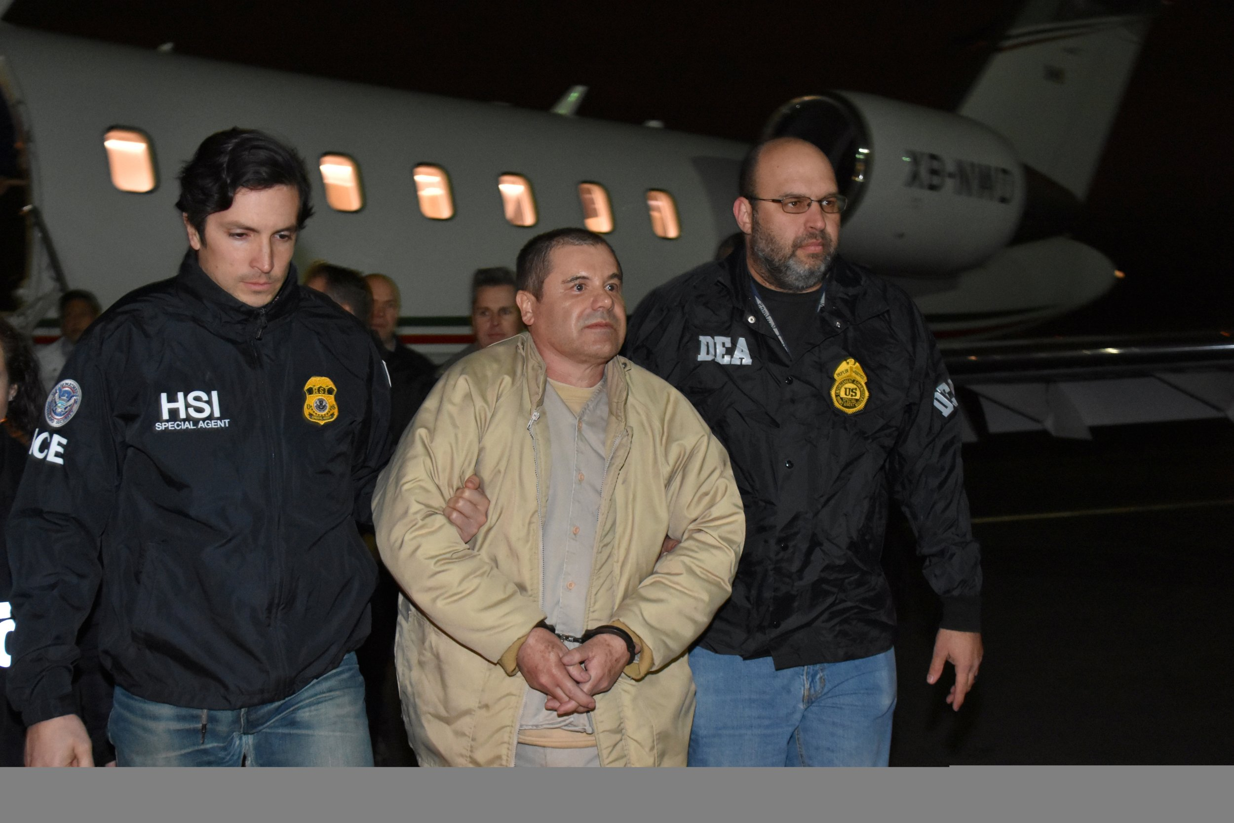 El Chapo' Promises Not to Kill Any Jurors From Upcoming