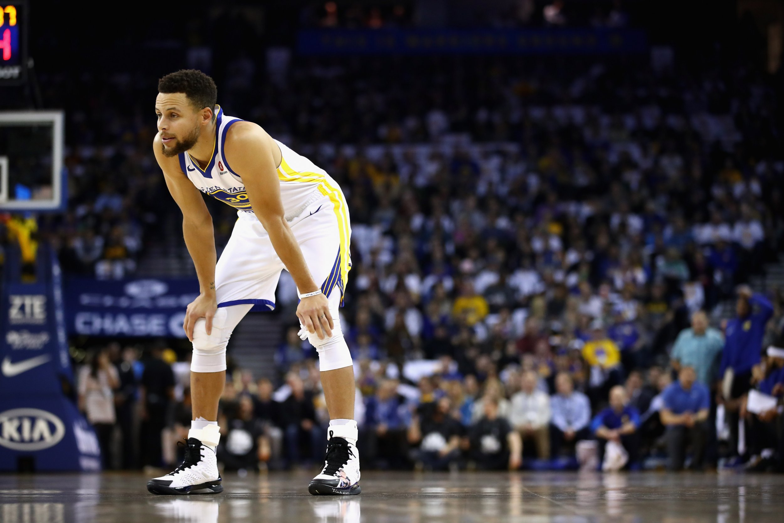 Golden State Warriors point guard Stephen Curry.