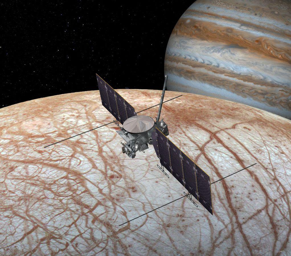 Alien Quicksand Could Sink NASA Landers on Jupiter's Moon Europa