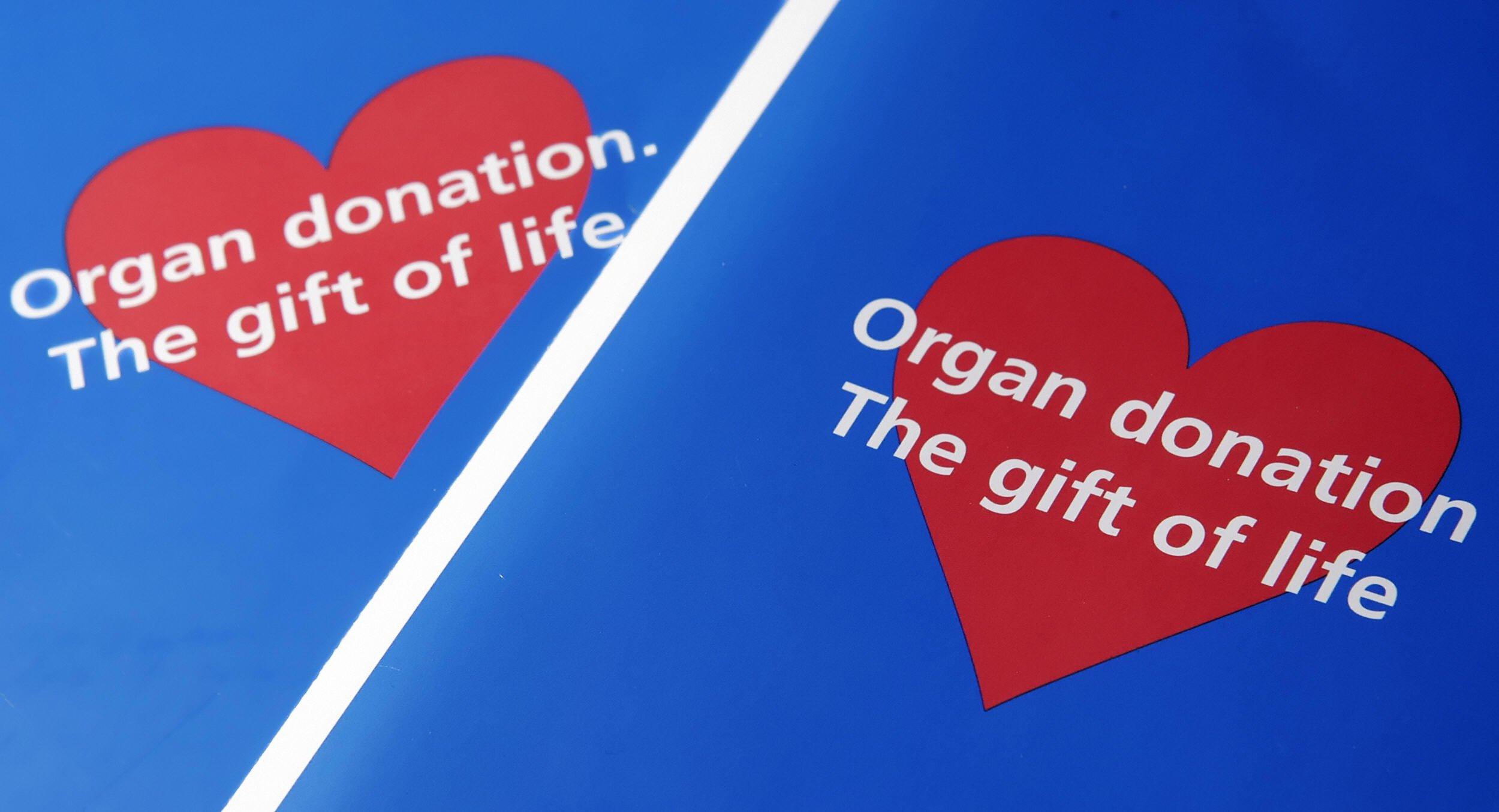 organ donor applications