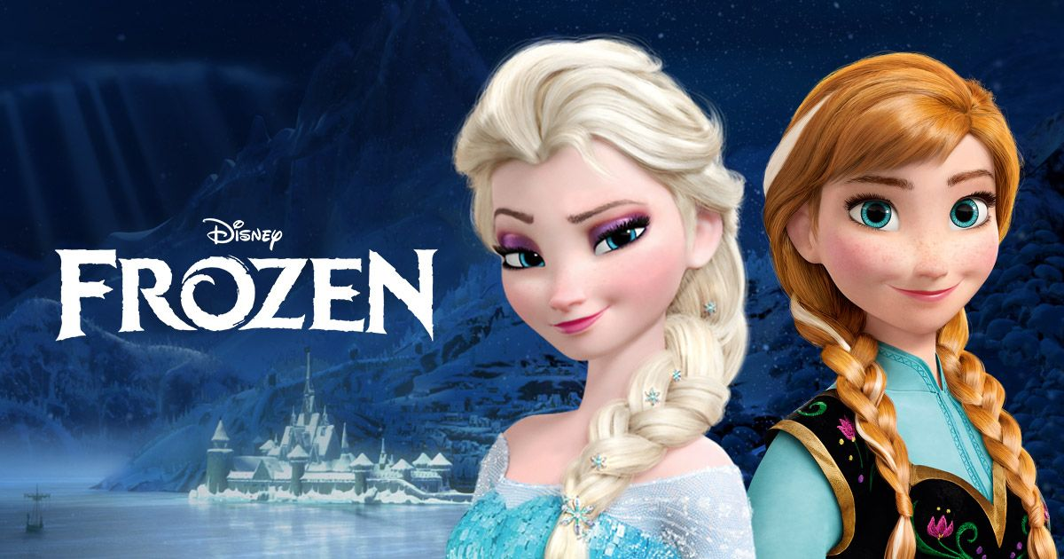 Frozen Logo disney