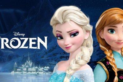 Frozen Logo disney