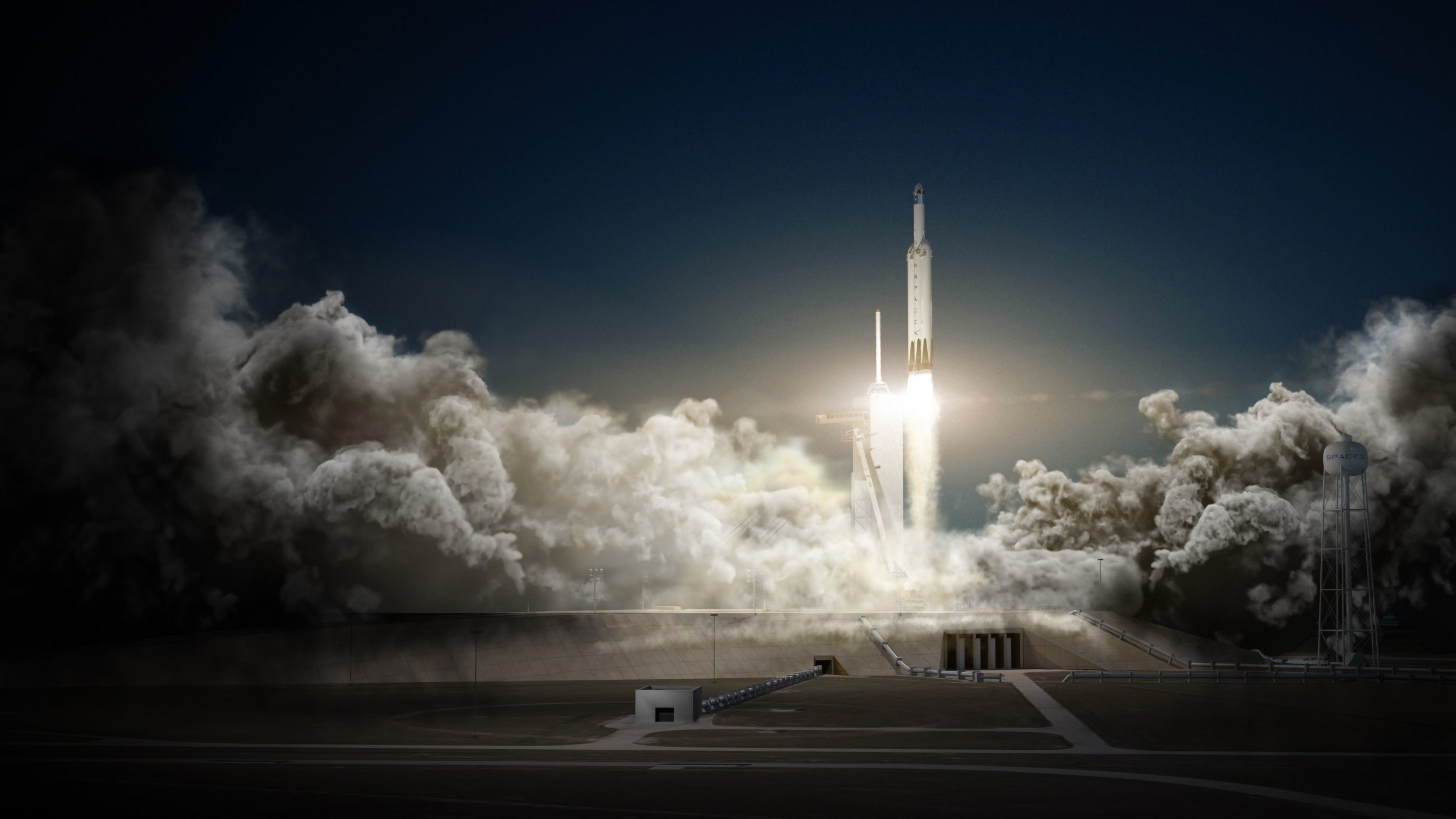 1_29_Falcon Heavy Falcon 9