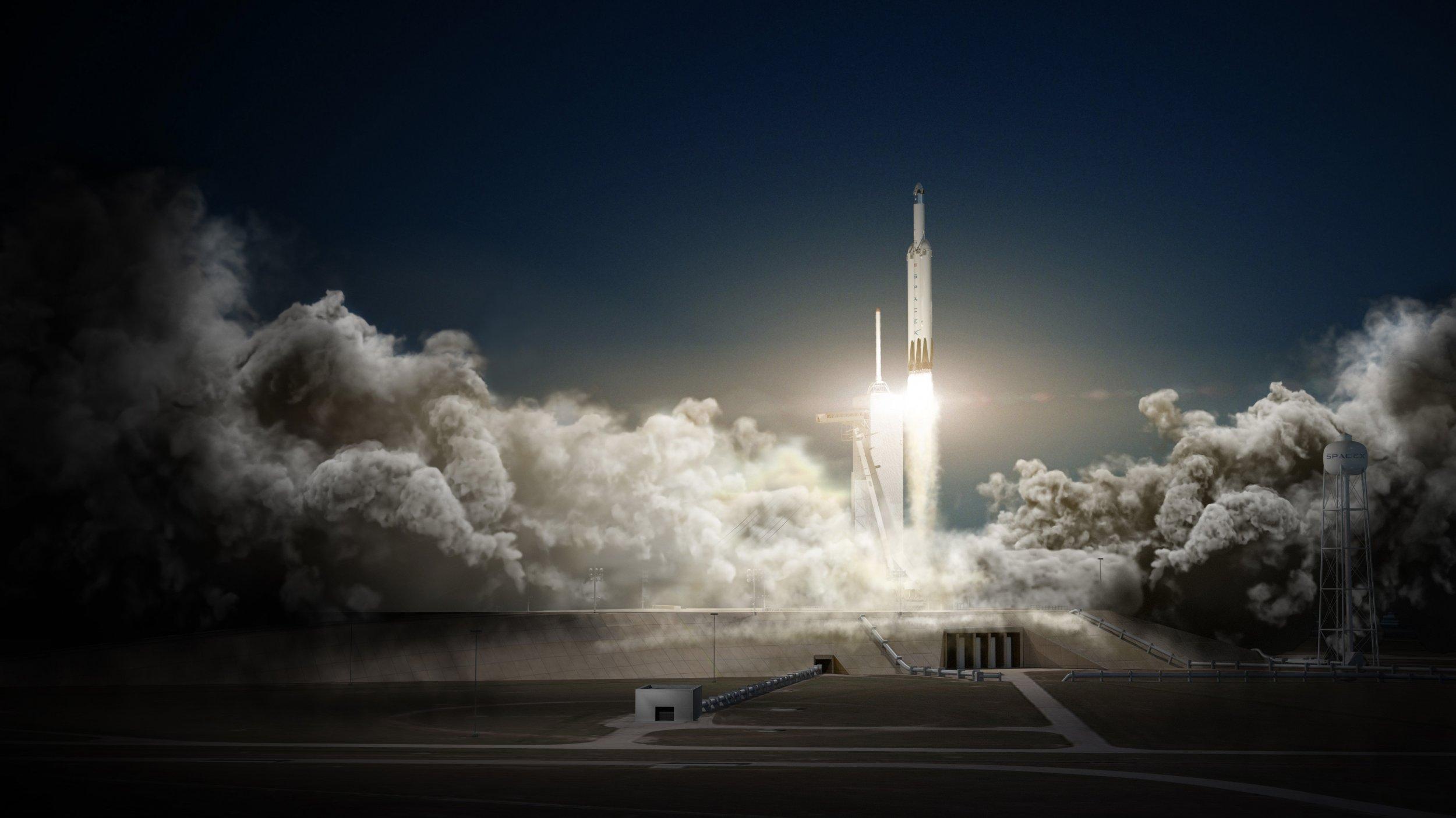 1_29_Falcon Heavy Falcon 9