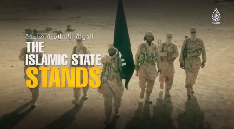 ISISvideoIslamicStateStands