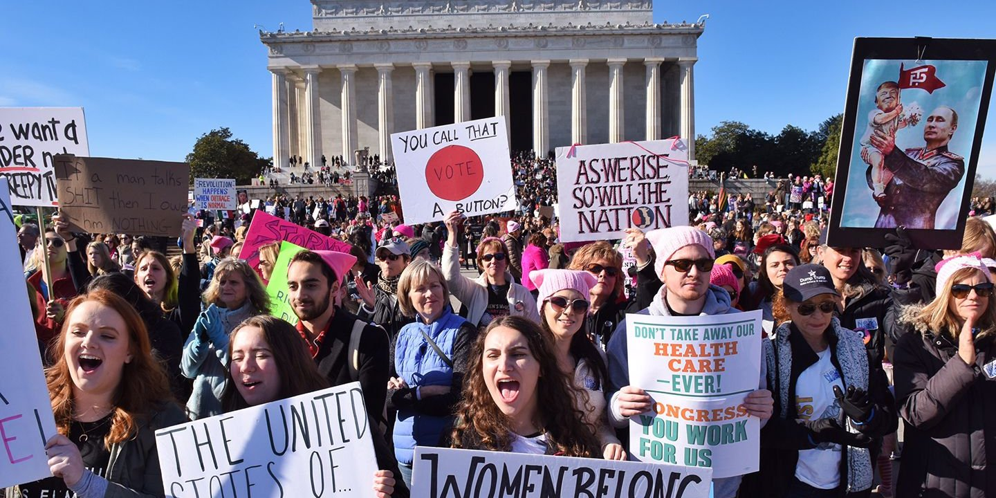 0453b4a53e66fa Will the Women's March Help Grab Trump by the Midterms?