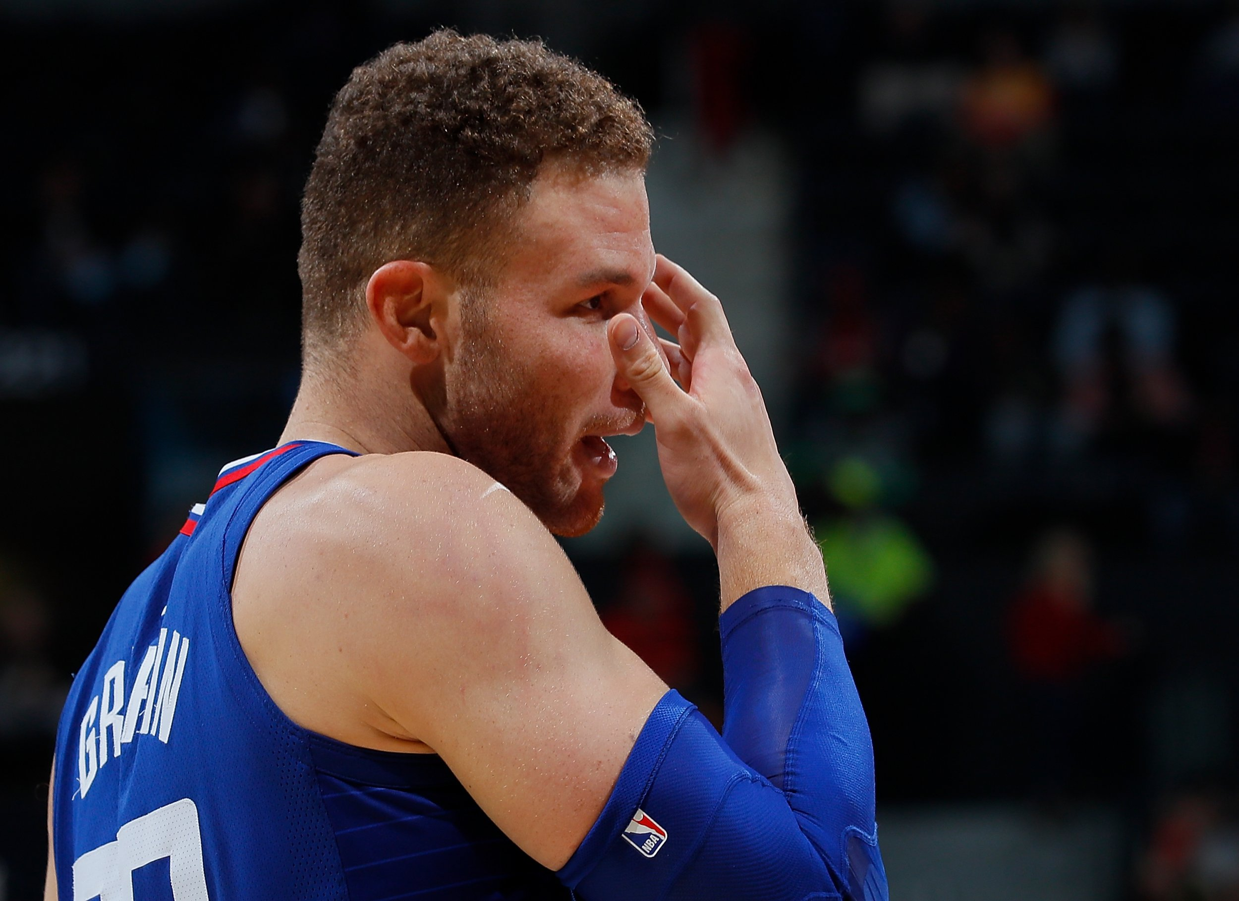 Former Los Angeles Clippers power forward Blake Griffin.