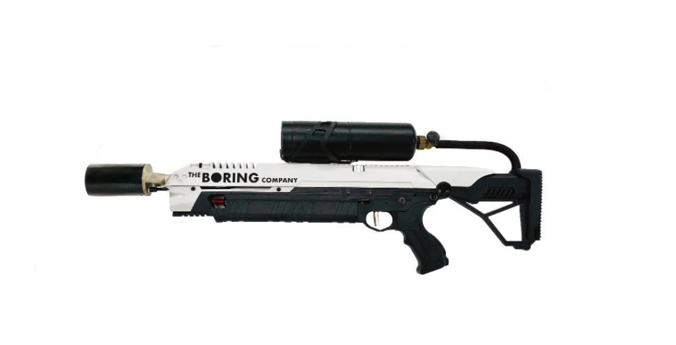elon musk flamethrower boring company