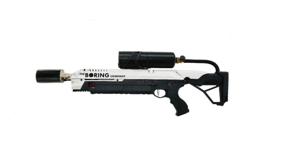 elon musk flamethrower boring company