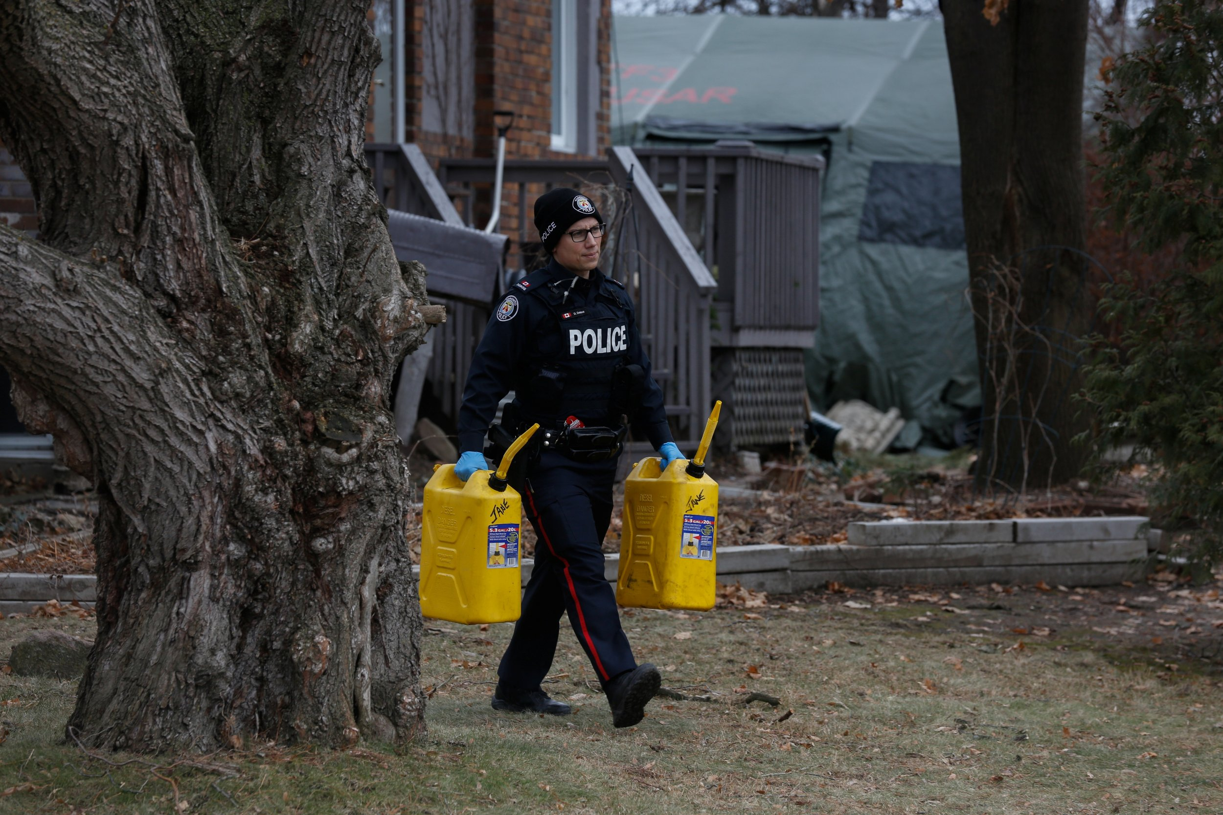 Serial Killer Suspect in Canada Planted Bodies Below Flower Bed