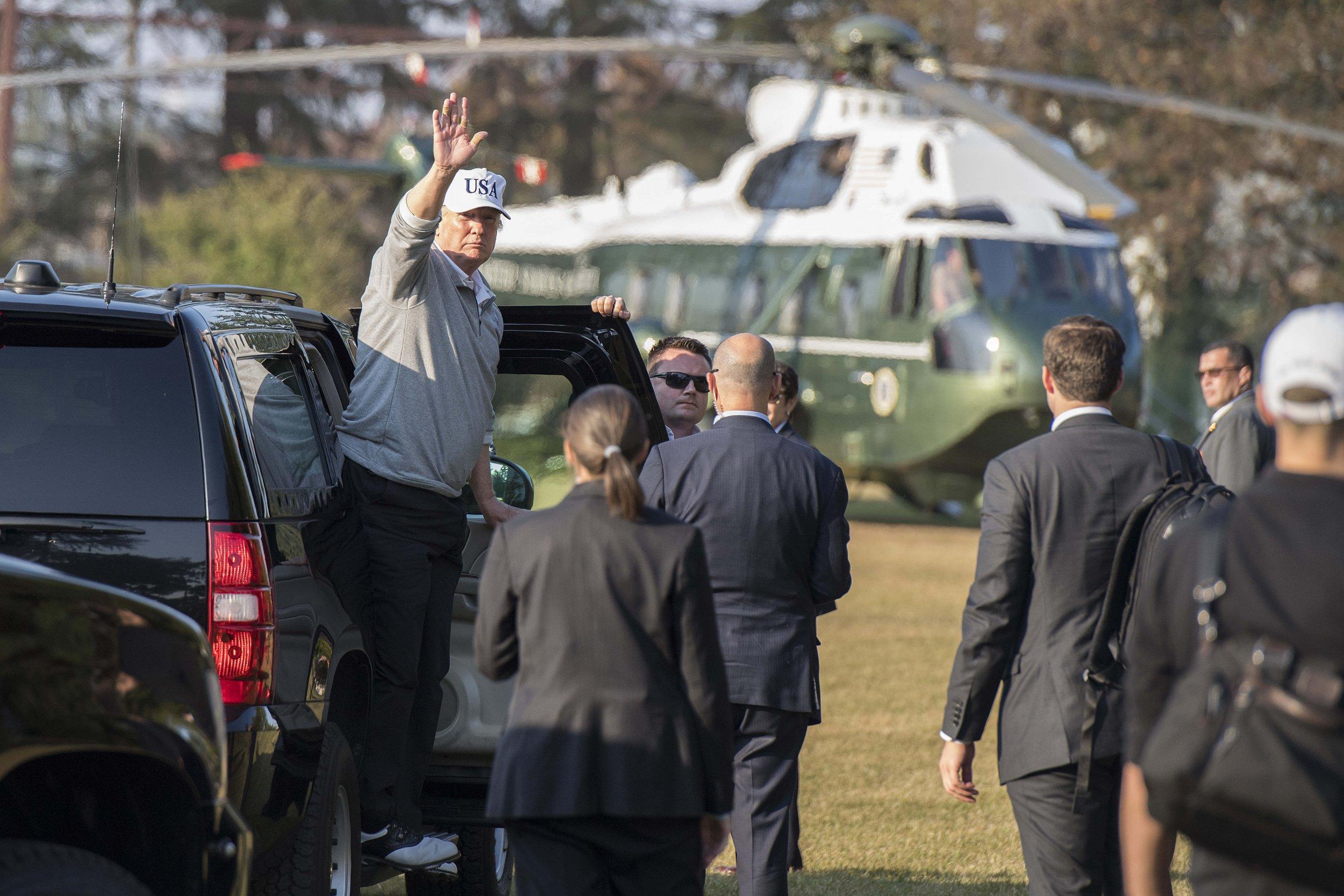 trump cheats like hell at golf