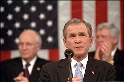 President_Bush_at_State_of_the_Union