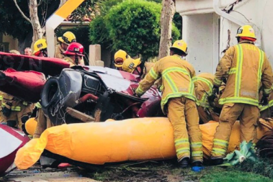 Newport Beach crash