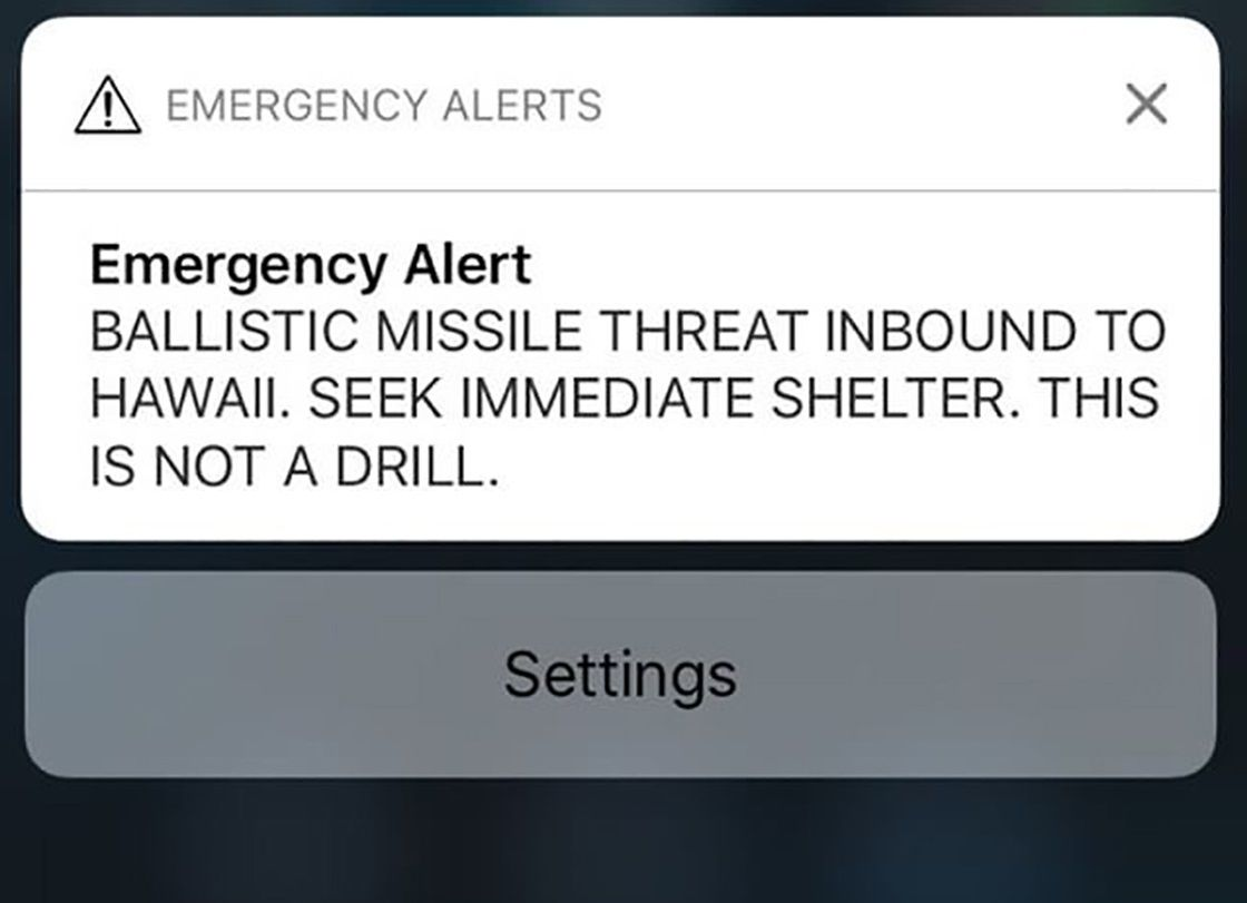missile alert hawaii