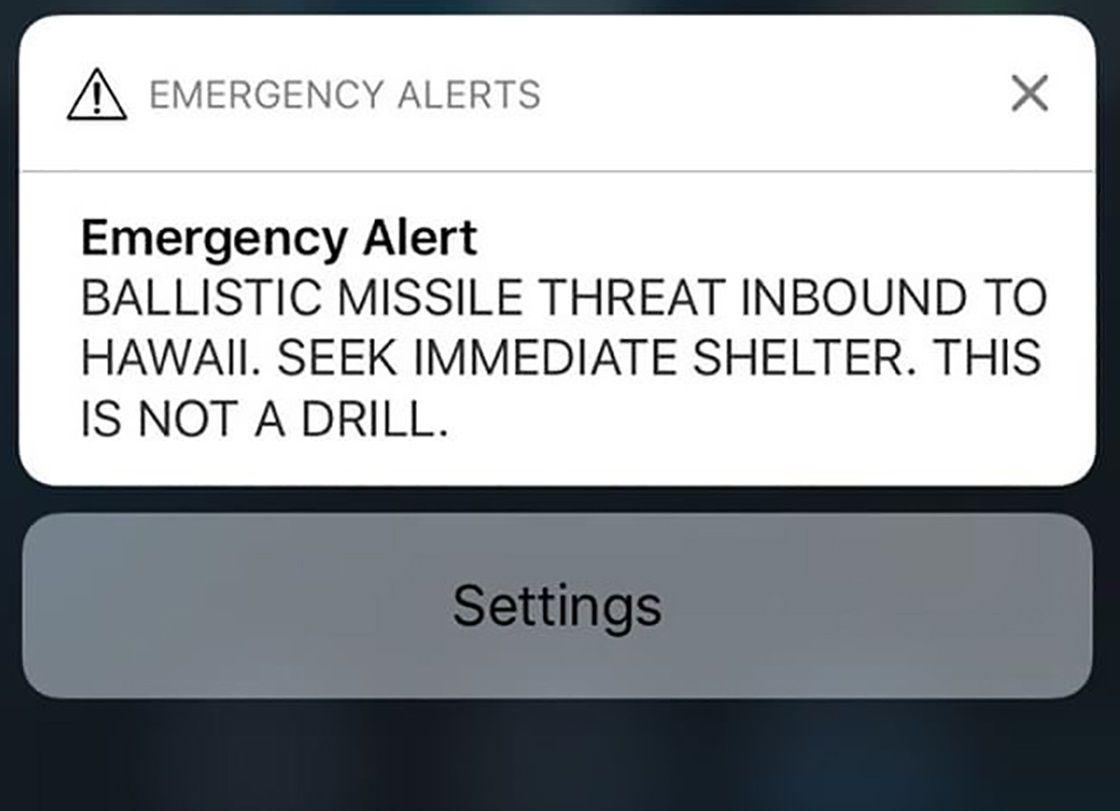 missile alert hawaii